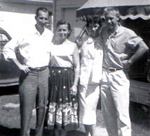 Charles and Virginia Tripp and Sandie and Don Young