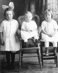 Nancy, Leatha and Margrett Thompson