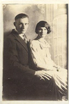 Wedding photo of Don & Mildred Nicholas